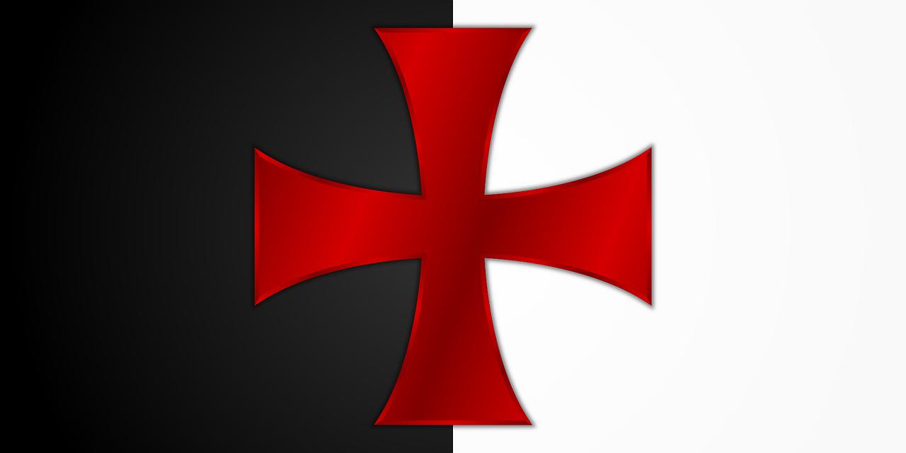 drapeau Ordre du Temple